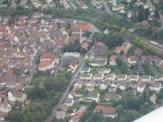 ..mit dem Flugzeug über Weil der Stadt - Sept 2013