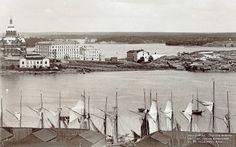 The South Harbor and Katajanokka, Helsinki, Foto K. Map Pictures, Before Us, Finland, Helsinki, Ancient History, Historical Photos, Nostalgia, World, Travel