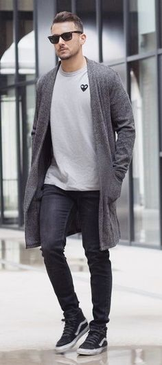 eaa6573785 Style Coordinators - Styling outfits for the everyday man. Mens Long  Cardigan ...