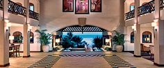 Entrance lobby with views to the ocean