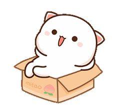 Cute Bear Drawings, Chibi Cat, Cat Couple, Best Friend Quotes Funny, Cute Cartoon Pictures, Cartoons Love, Dibujos Cute, Cute Cat Gif, Bear Cartoon
