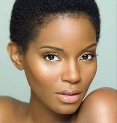 big chop african woman hair - Google Search