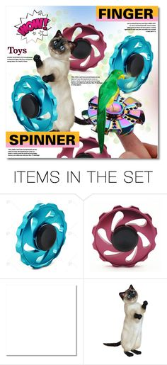 """""""NEW CONTEST! Challenge: make sets for finger spinners"""" by svijetlana ❤ liked on Polyvore featuring art"""