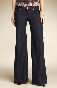 wide leg pants | Wide Leg Jeans are in the Spotlight