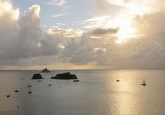 It's peaceful in St. Barths especially when the sun is about to set. Follow my board to discover more #stbarth #sunset at https://www.pinterest.com/saintbarthcom/