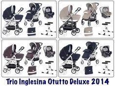 La collezione 2014 Inglesina propone il nuovo Trio Otutto Deluxe 2014 in 4 varianti di colore. Vi piacciono??