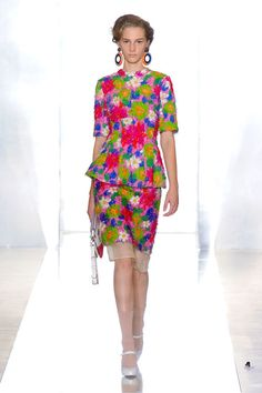 Colorfull Roses ❀Trend for Spring 2012  Marni Spring Summer 2012