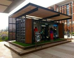 Container cafe #Container #cafe