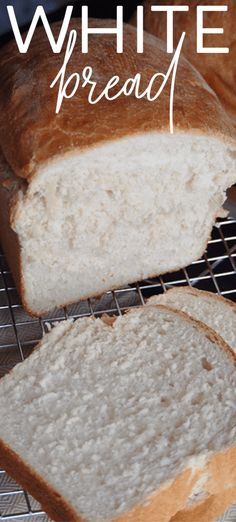 Dont let the thought of making homemade white bread scare you! Homemade bread is easy to make inexpensive and oh so delicious. Let me walk you through how to make this easy white bread with yeast recipe. Bread Maker Recipes, Easy Bread Recipes, Homemade White Bread, Easy Meals, Cooking, Food, Kitchen, Essen, Quick Easy Meals
