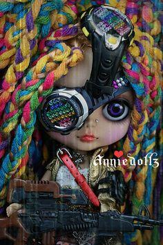 Steampunk blythe doll