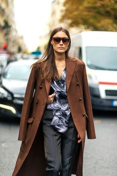 The Best Street Style at Paris Fashion Week #GiorgiaTordini @lucearow