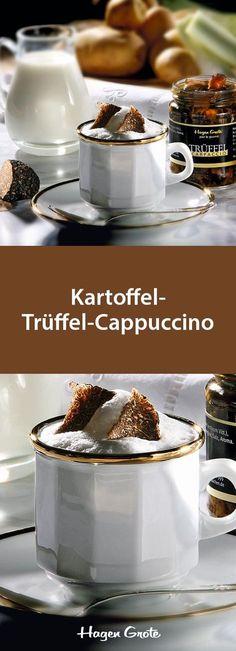 Kartoffel-Trüffel-Cappuccino