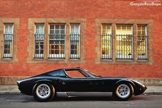 Lamborghini Miura , they say it is the most beautiful car ever designed and its hard to argue !! Jb