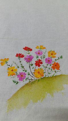 천아트 ~채송화그리기~ : 네이버 블로그 Watercolor Flowers, Watercolour, Fabric Painting, Product Development, Prints, Blog, Candy, Pen And Wash, Painting On Fabric