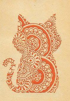 Cat henna.