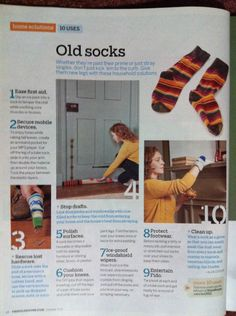 What to do with old socks