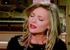 "Michelle Pfeiffer as Susie Diamond in ""The Fabulous Baker Boys""."