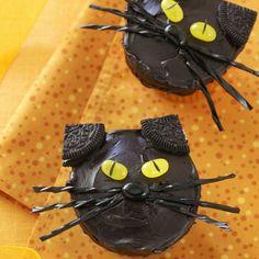 BlackCat cupcake