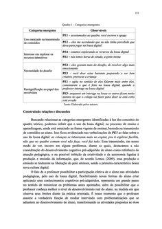 Página 151  Pressione a tecla A para ler o texto da página