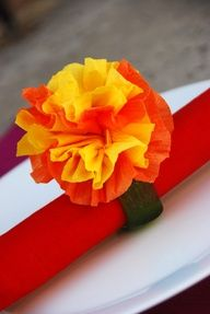 mexican crepe paper flowers cinco de mayo crafts decorating projects