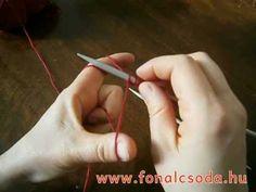 Kötés: alapok 1.rész - kezdés (CO) Knit Crochet, Knitting, Pattern, Youtube, Tricot, Breien, Patterns, Ganchillo, Stricken