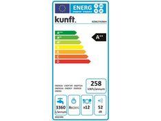 Lavavajillas KUNFT KDW2743 WH  (12 cubiertos - 60 cm - Blanco) Bar Chart, Dishwasher, Cutlery, White People, Bar Graphs
