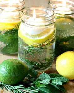 DIY Citronella Candles (http://blog.hgtv.com/design/2013/08/06/daily-delight-diy-citronella-candles/?soc=pinterest)