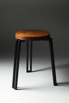 Hand crafted stackable stool by Alex Shanahan and Mocan