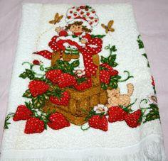 Strawberry Shortcake Hand towel, $22