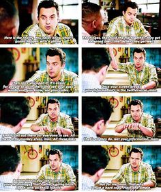 New Girl - Nick Miller logic. (Also, husband logic) Nick Miller, New Girl Tv Show, Snl News, New Girl Quotes, Chemistry Humor, Jessica Day, Funny Picture Quotes, Comedy Central, Hey Girl