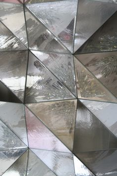 #silver #triangles #textures