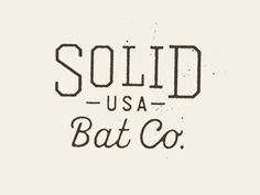 Bat Co. No.01 by Steady Print Shop Co