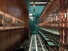 Located in the former waiting room within the 1930s railway station in…