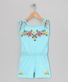 Look what I found on #zulily! Blue Ribbon Romper - Toddler & Girls by S.W.A.K. #zulilyfinds
