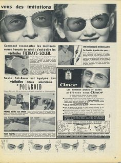 Collectibles Publicité Advertising 1957 Les Lunettes Nylor Other Breweriana Candid C