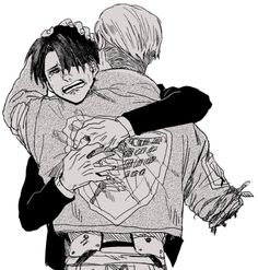 OH NO OH NO OH NO THE FEEELLLSSS. BECAUSE ERWINS ARM AND LEVI IS JUST LIKE HOWWHAT NOOOOOOO I LOVE YOU NO CRY