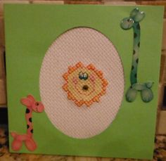 Handcrafted SCRAPBOOK Style Cross Stitch by CraftyCrossStitches, $2.99