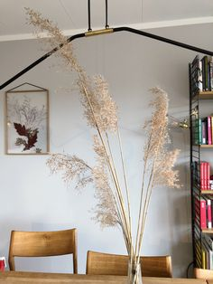 Reed instead of pampas grass. Interior design and decor. Scandinavian home Pampas Grass, Scandinavian Home, Mother Nature, Original Art, Contemporary, Interior Design, Abstract, Flowers, Artwork