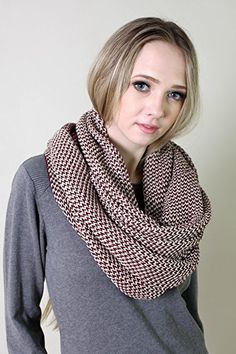 Amazon.com: Viverano Pure Organic Cotton Knit Infinity Scarf, Super Soft, Non-Toxic (Grey): Clothing