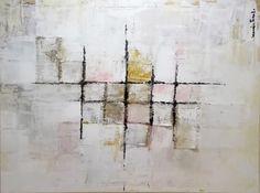 Artista: Maria Prieto-Moreno Pfeifer Categoría: Pintura abstracta contemporánea Técnica acrílico sobre lienzo con celdillas sobrepuestas de medidas 100 x 75cm