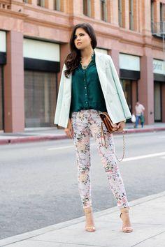 I want those pants! So adorable!