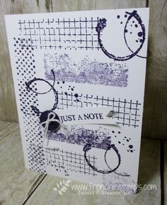Stamp & Scrap with Frenchie: Stamp on the go Monochromatic