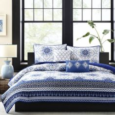 Intelligent Design Nicole Medallion Coverlet Set  found at @JCPenney