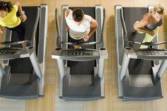 Cardio Workout Beginner Treadmill. Grey you run, orange you walk. Seems like a good build up to running