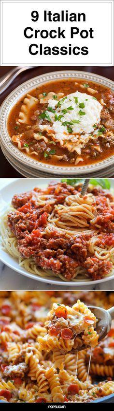 9 Italian Crockpot Recipes the Whole Family Will Enjoy