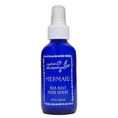 Mermaid Sea Salt Hair Spray – Captain Blankenship