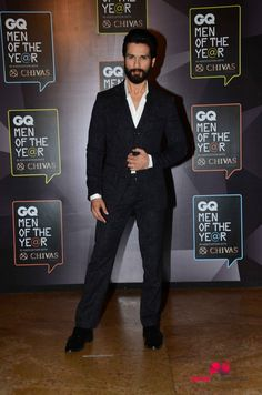 Shahid Kapoor Awarded GQ India Actor Of The Year 2015