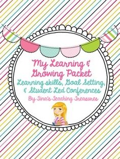 This item is designed to help you prepare for student-led conferences by reviewing learning skills, growth mindset and goal setting! Please check out the preview to see what is included! Learnings Skills: Anchor Charts- 1 for each Ontario learning skill (responsibility, organization, independent work, collaboration, initiative, and self-regulation) Matching Game (laminate and no-prep versions provided) Snip N' Sort- examples and non-examples (1 for each learning skill) Tracking lists wit...