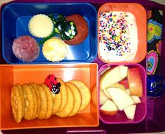Homemade Lunchable in @jan issues issues Wilke Davis Lunches  #LaptopLunches