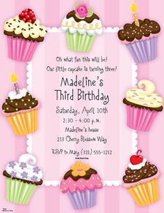 This sweet design has colorful cupcakes decorated with fun colors and accents, a pink striped background and a white scalloped border around your personalization. This is a 8.5 x 11 inch laser paper that you can purchase blank or have it personalized. Envelopes are sold separately.  Select your choice of color.